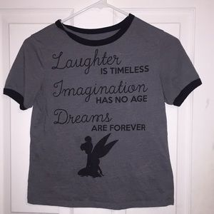 Disney Tinker Bell quote shirt